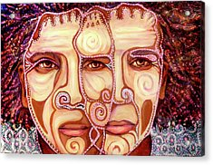 Two Heads Are Better Than One Acrylic Print