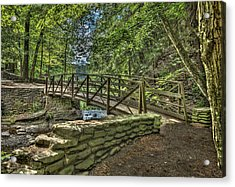 Wolf Creek @ Letchworth State Park Acrylic Print by Joe Granita