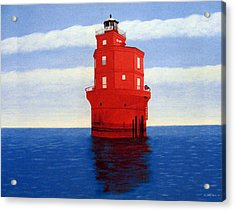 Wolf Trap Lighthouse Acrylic Print
