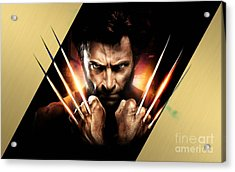 Wolverine Collection Acrylic Print by Marvin Blaine