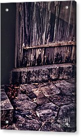 Wood And Stone Acrylic Print