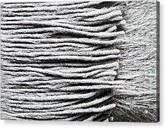 Wool Scarf Acrylic Print by Tom Gowanlock