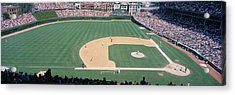 Wrigley Field, Chicago, Cubs V Acrylic Print by Panoramic Images