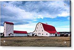 Wyoming Ranch Acrylic Print by L O C