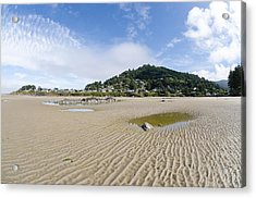 Yachats River At Low Tide Acrylic Print