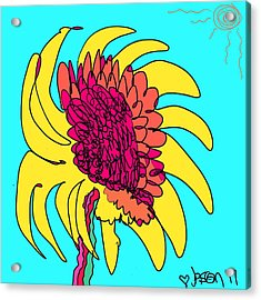 Yes. This Is A Flower, Child Acrylic Print