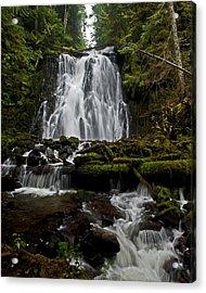 Yocum Falls Oregon Acrylic Print