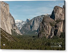 Acrylic Print featuring the photograph Yosemite Valley Afternoon by Sandra Bronstein
