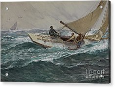 Youth Acrylic Print by Charles Napier Hemy