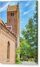 Acrylic Print featuring the photograph Ystad Monastery In Sweden by Antony McAulay