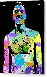 zef 2014 Ninja Acrylic Print by Jera Sky
