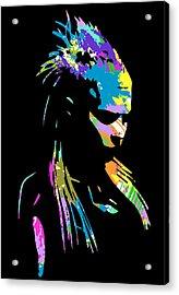 Zef 2014 Yolandi Acrylic Print by Jera Sky
