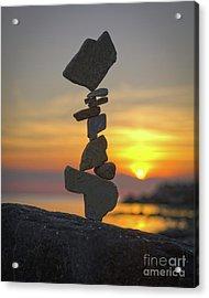 Zen. Acrylic Print