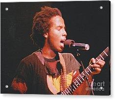 Ziggy Marley Acrylic Print by Mia Alexander