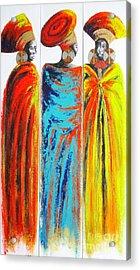 Zulu Ladies 2 Acrylic Print