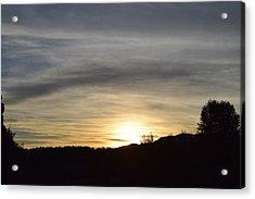 Sunrise Back Country Co Acrylic Print