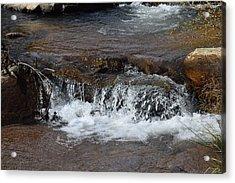 Waterfall Westcliffe Co Acrylic Print