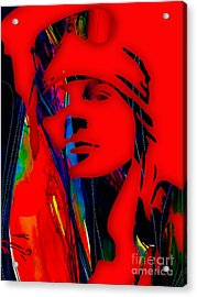 Axl Rose Collection Acrylic Print by Marvin Blaine