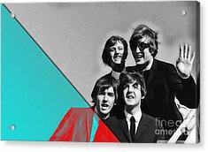 Beatles Collection Acrylic Print