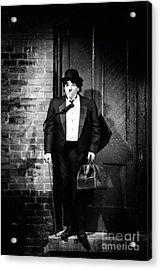 Charlie Chaplin Acrylic Print by Oleksiy Maksymenko