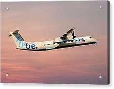 Flybe Bombardier Dash 8 Q400 Acrylic Print