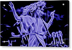 Grace Potter And The Nocturnals Collection Acrylic Print by Marvin Blaine