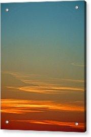 Huron Skies Acrylic Print
