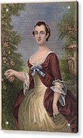 Martha Washington Acrylic Print by Granger