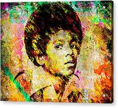 Michael Jackson Acrylic Print by Svelby Art
