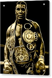 Mike Tyson Collection Acrylic Print