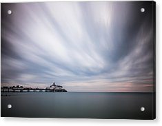 10 Minute Exposure Of Eastbourne Pier Acrylic Print