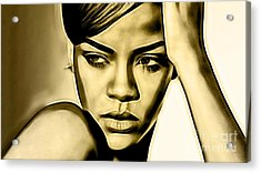 Rihanna Collection Acrylic Print