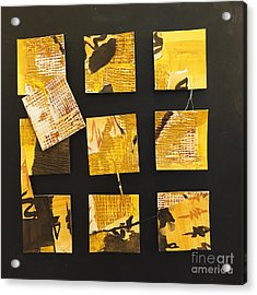 10 Square Acrylic Print
