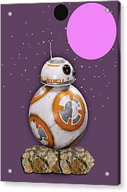 Star Wars Bb8 Collection Acrylic Print by Marvin Blaine