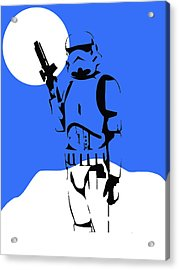 Star Wars Stormtrooper Collection Acrylic Print by Marvin Blaine