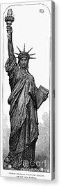 Statue Of Liberty Acrylic Print by Granger
