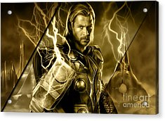 Thor Collection Acrylic Print by Marvin Blaine