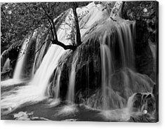 Turner Falls Acrylic Print by Iris Greenwell