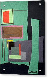 Acrylic Print featuring the tapestry - textile Untitled by Teddy Campagna