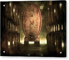 100 Hl - Italian Red Wine Acrylic Print
