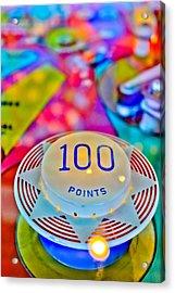 100 Points - Pinball Acrylic Print