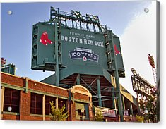 100 Years At Fenway Acrylic Print by Joann Vitali