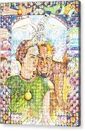 10000 Caras Son Uno Acrylic Print