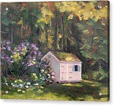 101 Blooms Acrylic Print