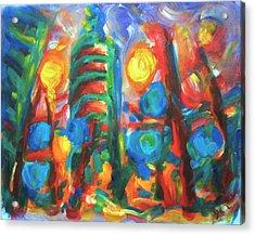 101 Exuberance Acrylic Print
