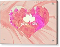 10183 You And Me Acrylic Print