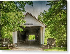 10700 Potter's Bridge Acrylic Print