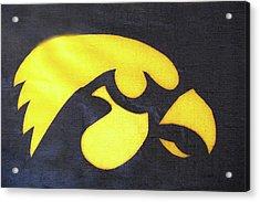 10724  Iowa Hawkeye Acrylic Print