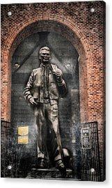 10726 Kinnick Statue Acrylic Print