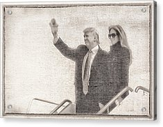 10779 The Trumps Acrylic Print by Pamela Williams